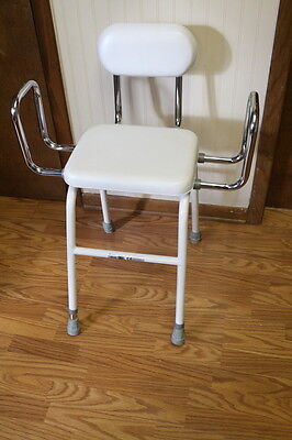 """Drive Medical 12455 Padded 14"""" x 11"""" Shower Chair"""