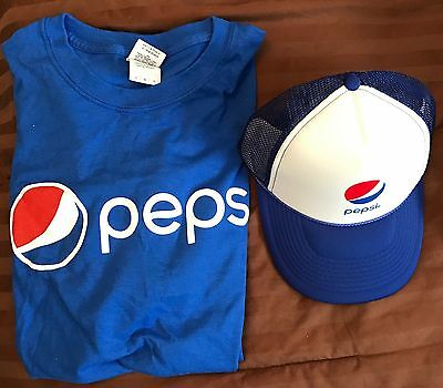 Pepsi T Shirt And Pepsi Hat