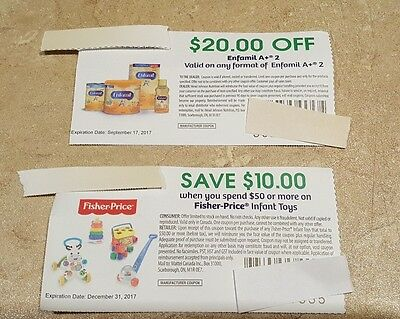 $20 Coupon Enfamil A+ 2  (Canada only)