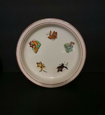 Vintage Walt Disney Wade Heath A England Three Little Kittens Bowl