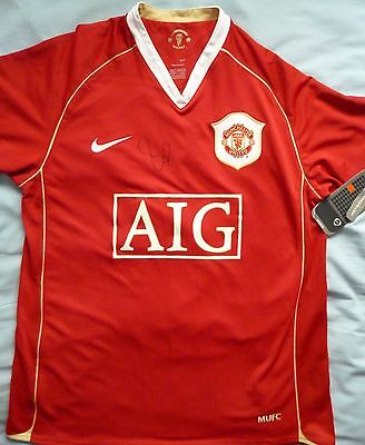 Paul Scholes Signed Manchester United Shirt - Football Autograph, Old Trafford