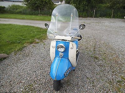 1962 BSA Sunbeam Scooter 250cc 4 stroke - rare and unusual scooter