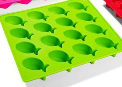 Fish 🐟 Chocolate ⭐️ Ice Tray Soap Cookie Mould Silicone Fondant Mold