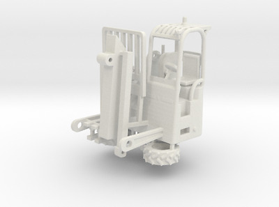 Truck Mounted Forklift 1-87 HO Scale Positional Kit Herpa Promotex Truck