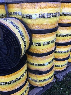 300mm Underground warning tape oil pipe fo cable
