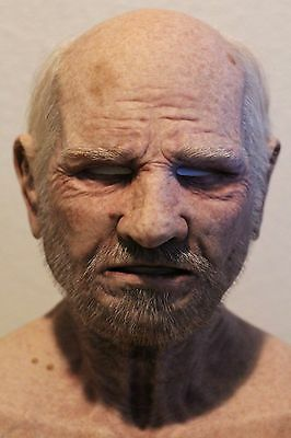 CFX Codger The Old Man Silicone Mask SPFX Realflesh