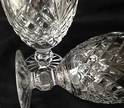 A Pair of Tyrone Crystal Gin & Tonic Glasses in the Antrim Cut