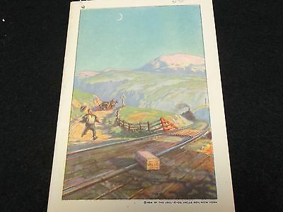 1924 Jell-o Brochure Exceptional Condition
