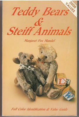 Collectors Guide Book Teddy Bears and Steiff Animals Vol. 1 1984 Paperback