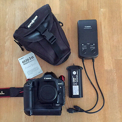 Canon  EOS 1D Mark II 8.2 MP Digital SLR Camera - Black (Body Only)