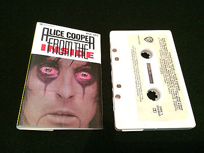 Alice Cooper From The Inside 1St Press Australian Cassette Tape