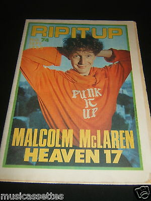 New Zealand Music Magazine Malcolm Mclaren Mc Laren Heaven 17 1983