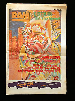 Ram Australian Music Magazine The The Oingo Boingo Jason & The Scorchers 1987