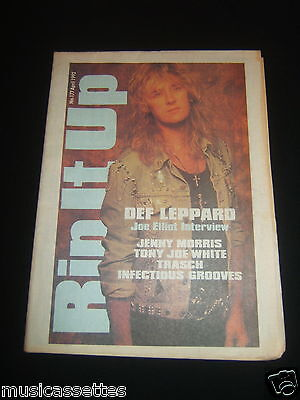 Rip It Up Magazine New Zealand Def Leppard Tony Joe White