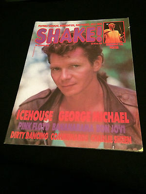 Shake! Magazine New Zealand Icehouse Eurythmics Billy Idol Midnight Oil 1988