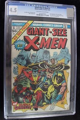 Giant-Size X-men #1 CGC 4.5 OW/W - 1st Appearance of New Team Colossus Storm+