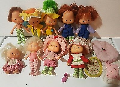 1979 American Greetings Strawberry Shortcake vintage collection Kenner