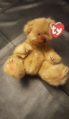"TY Beanie Baby Attic Treasures "" Cody ""  Jointed Teddy Bear  #A3"