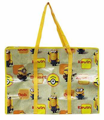 New Large Tote Bag Minions Minion Reusable Grocery Shopping Bag #55