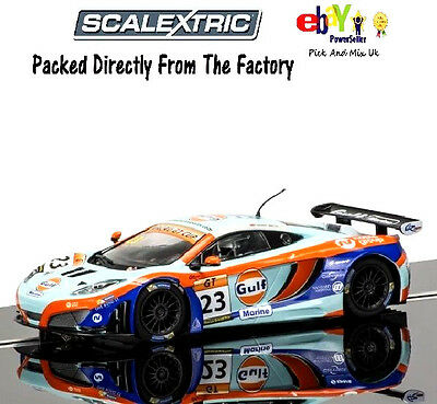 NEW SCALEXTRIC Slot Car, McLaren 12C GT3 - Macau GT Cup 2014 C3715