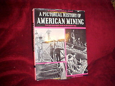 American Mining--Complete Photographic History! Tons Of Rare Photos! Oop