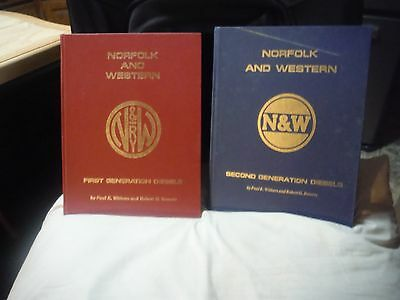 Norfolk Western N&W First and Second Generation Diesel Locomotives Books Trains