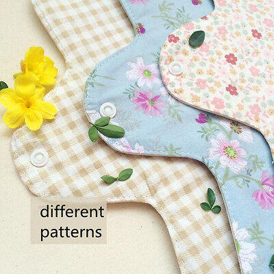 2 Pcs Handmade Panty Liner Cotton Napkin Day and Night Use Washable for Maternal