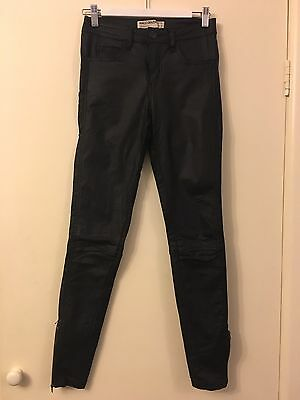 Ladies Size 10 Coated Jeans