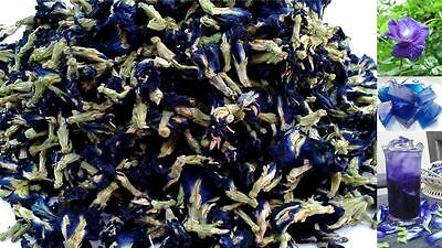 Dried butterfly pea flower Herbs Herbal healthy tea drink food coloring Best