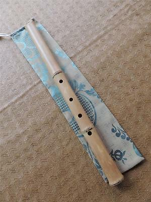 1.8 Master Level Zen Tagaya Bamboo Flute Excellent Shakuhachi Performance Play