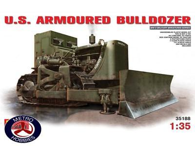 Mini Art 1/35 US Armoured Bulldozer 35188 Brand New