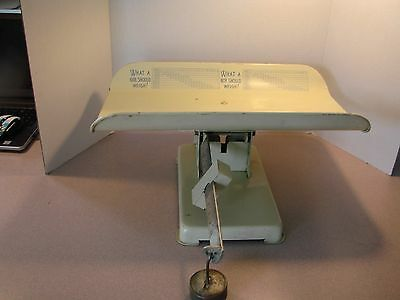 Vintage Health-O-Meter BABY Stork Scales by Continental Scale Corp