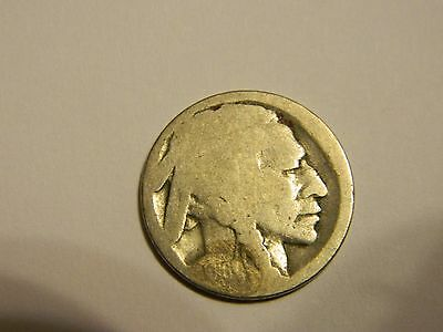 1916 Buffalo Nickel Acid Recovered Date --INV116