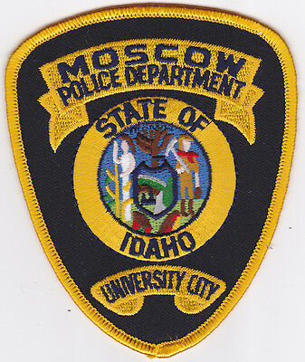 IDAHO Moscow Police patch, university city