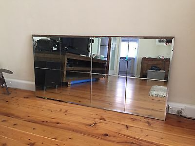 Vintage Original 1940's Wall Mirror