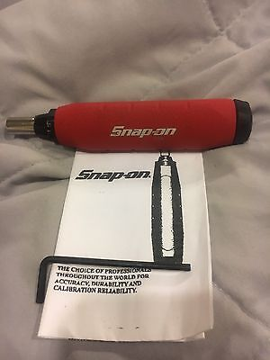 Snap On Torque Screw Driver Adjustable  QDRIVER2P