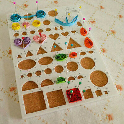 Paper Quilling DIY Tools Kit Craft Full Set Quilling Work Strips Board Mould Gri