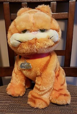 "TY Garfeild The Movie 10"" plush Bill Murry Jim Davis comic strip cartoon"