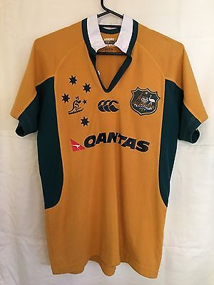 Canterbury Authentic Wallabies Rugby Union Jersey ⭐ Size S ⭐ In EC