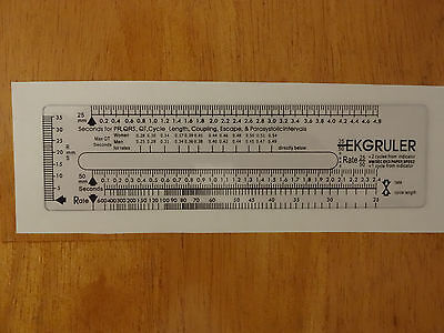 ECG EKG ruler Brand New , in USA