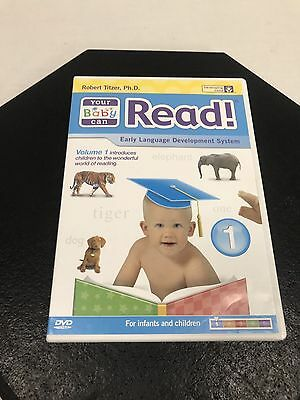 Robert Titzer, Ph.D. Your Baby Can Read Volume 1 For Ages 3 Months To 5 Years