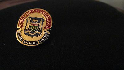 """Ontario Police College Pin- """"Integrity, Knowledge, Courage"""""""