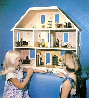 Things To Make For Toddlers - Dollhouse, Knitting, Sewing, Etc.