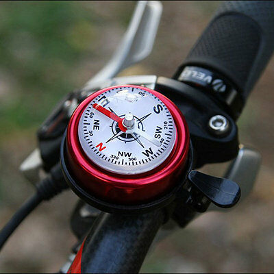 Mountain Bike Aluminum Alloy Bicycle Cycling Bell Horn Red Bike Accessories UK