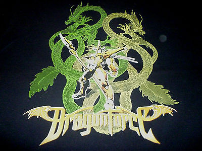 DragonForce Tour Shirt ( Used Size XL ) Good Condition!!!