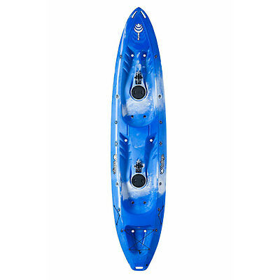 TOOTEGA PULSE 120 DOUBLE KAYAK Glacier Blue Tootega Canoeing & Kayaking Kayaks
