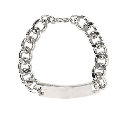 Bulk lot x 12 - stainless steel bracelet - for engraving