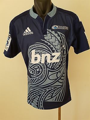 Blues Super Rugby Jersey Shirt Men's Medium New Zealand Rugby