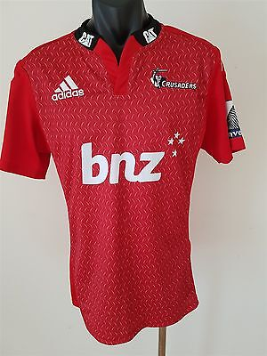 Crusaders Super Rugby Jersey Shirt Men's Medium New Zealand Rugby