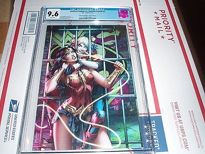 Justice League Vs. Suicide Squad #1 Cgc 9.6 (Most Good Hobby Virgin)(Harley & Ww
